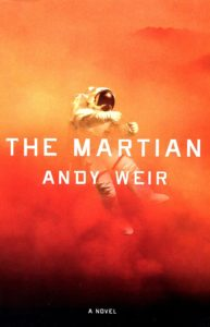 The Martian by Andy Weird Book Cover
