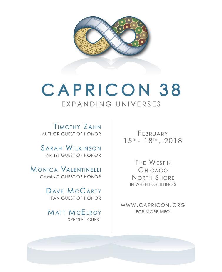 Capricon 38: Expanding Universes