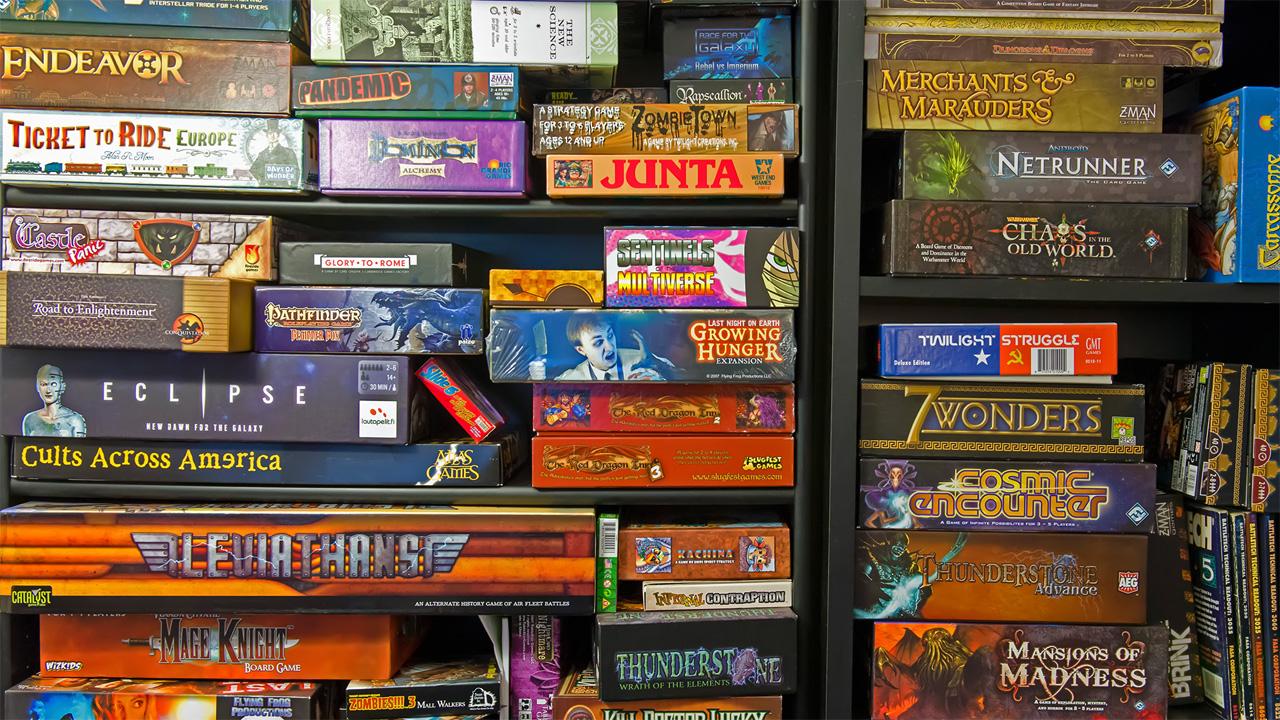 Shelf of Games